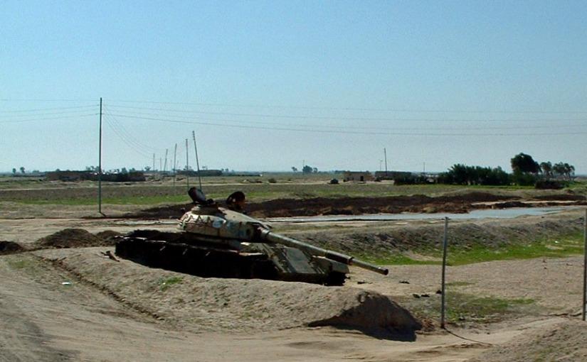 Camp Victory, Iraq – Summer2003